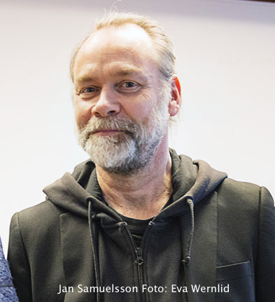 Hallå där stipendievinnare Jan Samuelsson