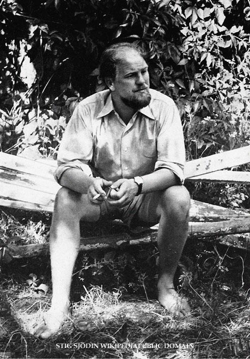Stig Sjödin-poeten som banade ny väg