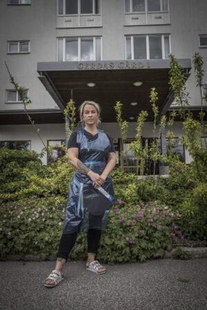 Intervju med Malin Wegge undersköterska