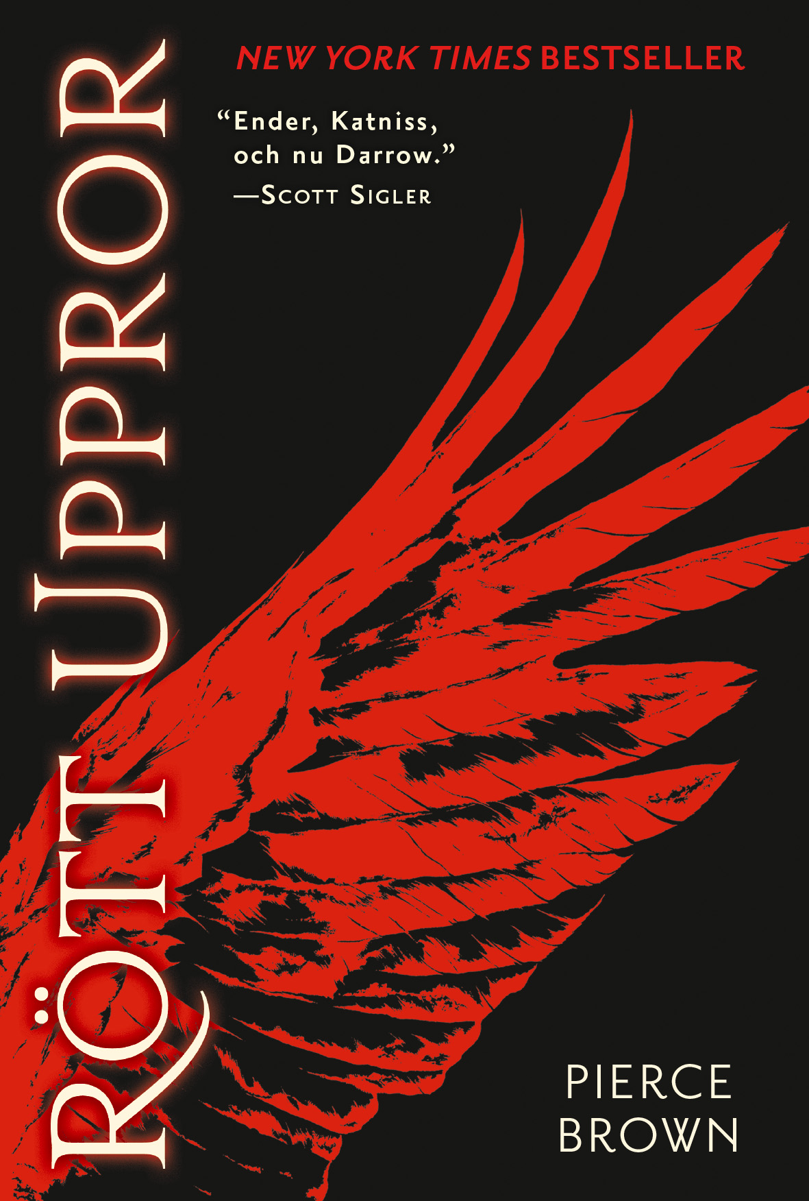 Recension: Rött uppror av Pierce Brown
