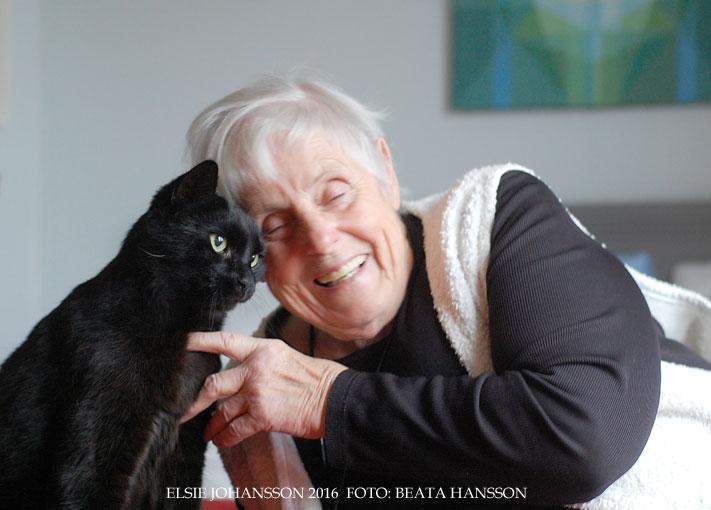 Elsie Johansson – om den ohemula nåden att kunna skriva